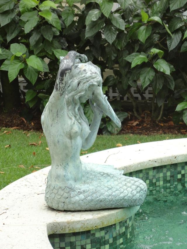 Mermaid by the water