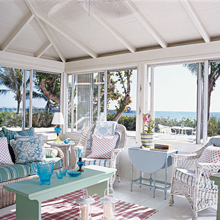 Sweet summer style coquina cottage part ii of the main for Summer beach house decor