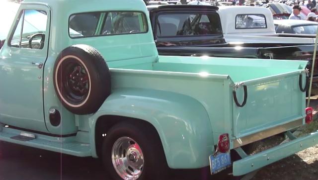 Mint Green truck