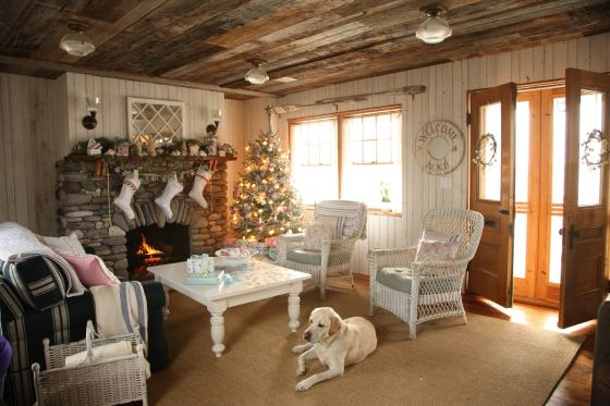 family christmas room