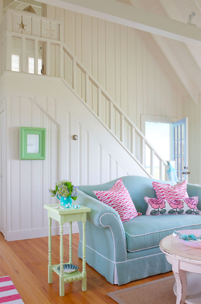 Cottage style tracey rapisardi style for Summer beach house decor